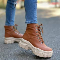 CHUNKY BOOTS CAMEL BEIGE